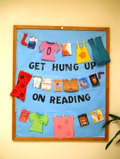 Get hung up on reading Bulletin board