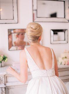 Beautiful getting ready moment: http://www.stylemepretty.com/destination-weddings/2015/07/10/romantic-family-oriented-paris-elopement/ | Photography: Le Secret d'Audrey - http://www.lesecretdaudrey.com/