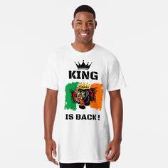'Gospel phrases' Long T-Shirt by FlyT-shirts Conor Mcgregor, Tshirt Colors, Soft Fabrics, Shirt Designs, King, Ufc, Mens Tops, T Shirt, Trends