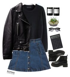 """""""#Romwe"""" by credentovideos ❤ liked on Polyvore featuring Retrò, Bebe, IDEA International and Byredo"""