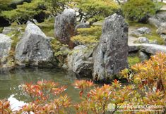 The second most famous temple in Kyōto is the Ginkaku-ji. This is a snapshot of the rock garden.