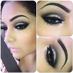Eyeshadow: Black/Grey by rina7dave on Pinterest | Makeup, Smoky ...