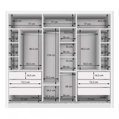 Couple Wardrobe with 3 Mirror 3 Doors Siena Furniture White .- Guarda Roupa Casal com 3 Espelho 3 Portas Siena Móveis Branco – MadeiraMadeira Double Wardrobe with 3 Mirror 3 Doors Siena Furniture White – MadeiraMadeira -the chosen wardrobe desig Wardrobe Room, Wardrobe Design Bedroom, Bedroom Cupboard Designs, Bedroom Cupboards, Diy Wardrobe, Master Bedroom Closet, Wardrobe Ideas, Closet Ideas, White Wardrobe