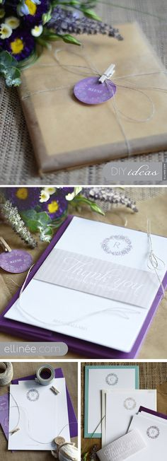 DIY Bridesmaid Gifts.. Personalized Note Cards...FREE Downloadable PDF Templates !