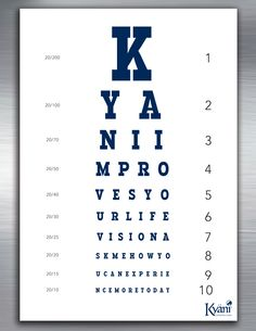 Let Kyäni change your life vision! Ask me how! tonyfischer.kyani.net. or message me!