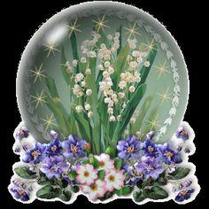 Gif animado de Flores