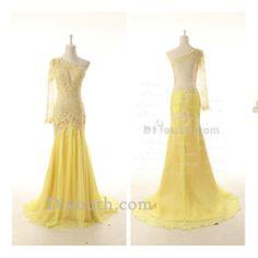 unique yellow prom dress prom dresses