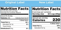 On May 20, 2016, the FDA announced the new Nutrition Facts label for packaged foods to reflect new scientific information, including the link between diet and chronic diseases such as obesity and heart disease.