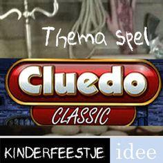 Deze themakist Levend Cluedo ideaal voor kinderfeestje leeftijd 9 - 12 jaar. Draaiboek, spel, attributen, aankleding en tips. Direct te huren en in huis.