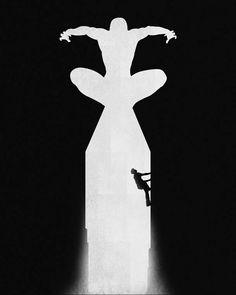 L'origine des super-héros en posters minimalistes