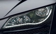 Philips Lumileds power the first full LED headlighting system on the Audi R8
