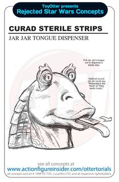 More Rejected Star Wars Promotional Merchandise Concepts