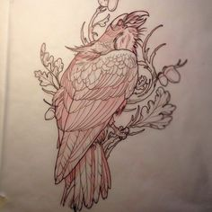 Like this one xxxx Cool Sketches, Tattoo Sketches, Tattoo Drawings, Tattoo Ink, Yakuza Tattoo, Samoan Tattoo, Polynesian Tattoos, Crow Art, Raven Art