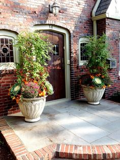 flores del sol: fall container plantings part I