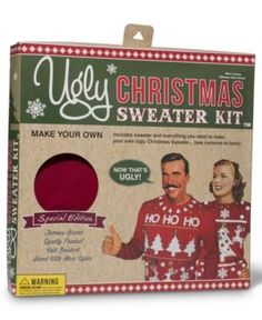 Ugly Christmas sweaters from Macy's my mom is having an ugly sweater contest and this would be perfect!!