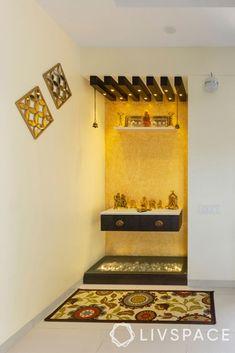 Pooja Room Door Design, Main Door Design, Tv Wall Design, Temple Design For Home, Bedroom Furniture Design, Bedroom Decor, Apartment Balcony Decorating, Puja Room, Frosted Glass Door