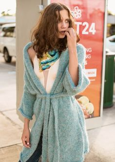 Kimono med lommer