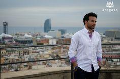 excelente outfit para pasear o reuniones de negocios... http://www.aragaza.com/