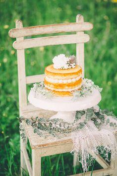 Naked Wedding Cake Dreamy Austrian Meadow inspiration