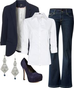 """""""Business Casual"""" by alanad23 on Polyvore"""