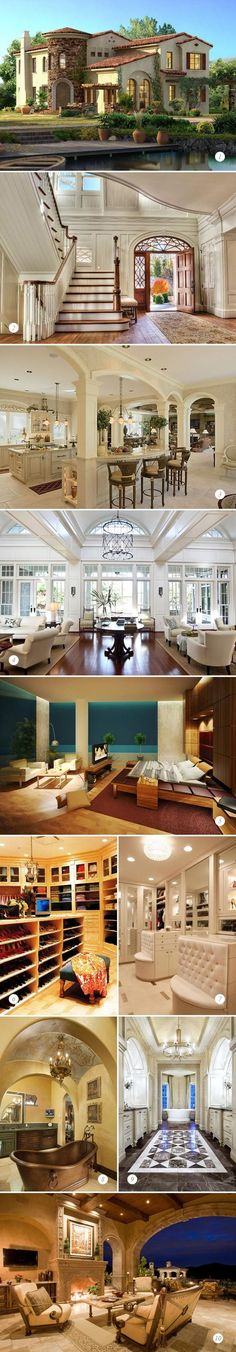Oh so beautiful home  GrandMansions #LuxuryHomes #Most Expensive Homes