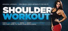 Bodybuilding.com - Shoulder Workout: Amanda Latona's Pro Bikini Video Workout For Delts