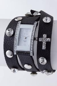 Double Wrap Studded and Crystal Watch...$59.99!!!