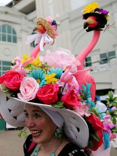 YES THIS REALLY DOES HAPPEN!! haha awesome 2013 KY Derby Hats