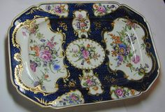 18th Century Dr. Wall Worcester Soft Paste Porcelain Platter 2
