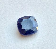 Blue Corundum Bead Blue Corundum Ring Size Blue by gemsforjewels