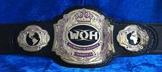 Leather Belts, Real Leather, Wwe Championship Belts, Wwe Belts, Hulk Hogan, John Cena, Plate, Wrestling, Etsy Shop