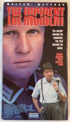 The Incident (VHS, 1992) Walter Matthau, Susan Blakely, Robert Carradine - NTSC