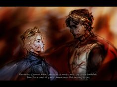 'A kingdom, or this' King Laurent of Vere & King Damen of Akielos - Captive Prince