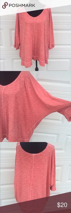 Lane Bryant pink top Soft cotton pink lane Bryant top Lane Bryant Tops Tees - Long Sleeve