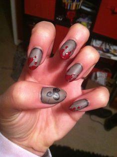 Teen wolf inspired nails #NaturalBeautyRoutine Vampire Diaries Stefan, Natural Beauty Tips, Diy Beauty, Teen Wolf Costume, Costumes For Women, Woman Costumes, Couple Costumes, Group Costumes, Hair And Nails