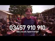 David Tennant with some great school results in Sierra Leone   Sport Relief 2014 - YouTube