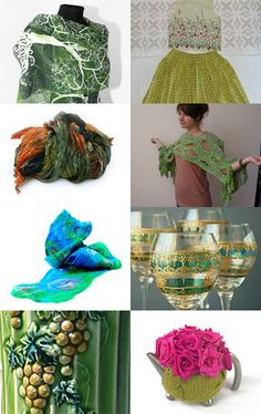 Green brings out the color in your eyes by Carley Marston on Etsy