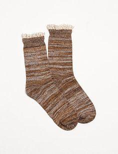 Lace Trim Socks