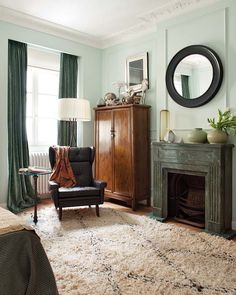 Great paint color  residential interior design, home interior decorating, contemporary interiors, Contemporary Home Interior Design in Spain