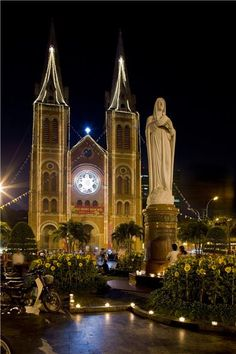 Saigon Cathedral, Saigon, VIETNAM