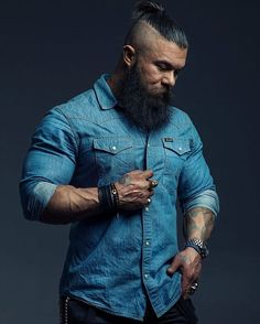 1000 ideas about Top Knot Men on Pinterest