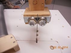 Jigsaw table. Convert a low cost jigsaw to an expensive machine. - by tamtum @ LumberJocks.com ~ woodworking community