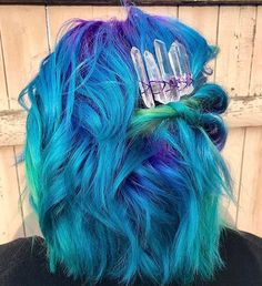 "10.9k Likes, 67 Comments - Pulp Riot Hair Color (@pulpriothair) on Instagram: ""@bleachedandblown from @parlour.eleven is the artist... Pull Riot is the paint."""