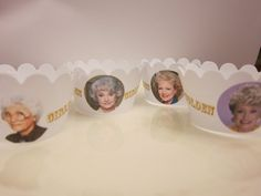 The Golden Girls Cupcake wrappers Rose by PerfectShapes on Etsy