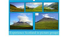 Experience Scotland in picture groups (Wall Calendar 2021 DIN A3 Landscape) Group Pictures, A3, Scotland, Calendar, Landscape, Nature, Travel, Wall Calendars, Stationery Set
