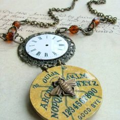 Ouija Board Steampunk Necklace