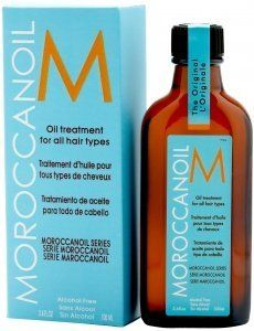 Moroccan Oil Hair Treatment 3.4 Oz Bottle with Blue Box: http://www.amazon.com/Moroccan-Hair-Treatment-Bottle-Blue/dp/B001AO0WCG/?tag=theaffilia046-20