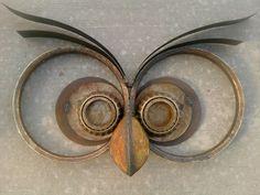 Resultado de imagen para esculturas en hierro reciclado