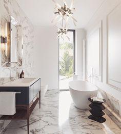 "114 Likes, 7 Comments - Studio E (@studioe_design_arch) on Instagram: ""#interiordesign by #studioe_design_arch #design #bratislava #bathroom @flos_worldwide…"""