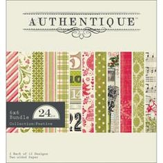 Authentique Paper  Festive:  Shipping Mid-Late June
